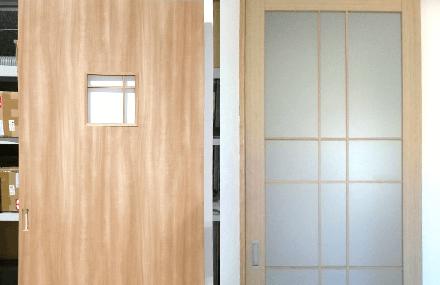 格子ドアはできますか?